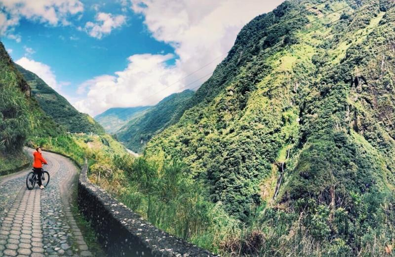 Biking in the Mountains, Ecuador. Photo Credit: Emily Coleman.