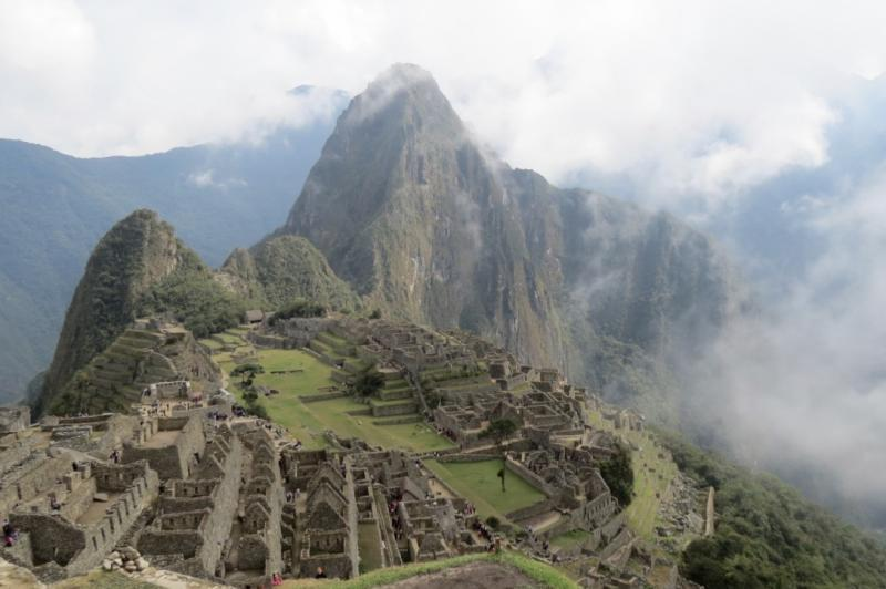Machu Picchu ruins near Cuzco, Peru. Photo credit: Devin Grammon