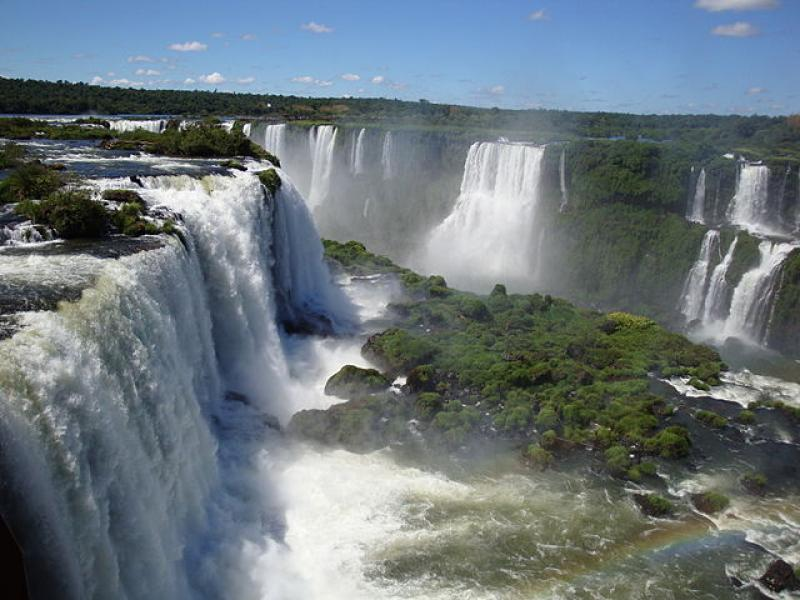 The Iguazu Falls, Argentina, Photo credit: Wikimedia Commons