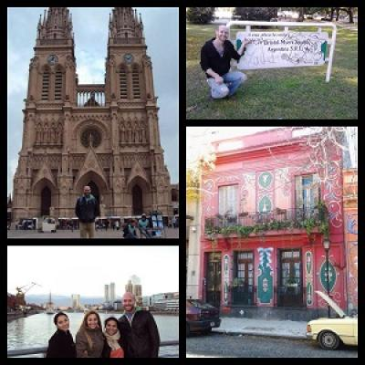 Picture Collage of Spain