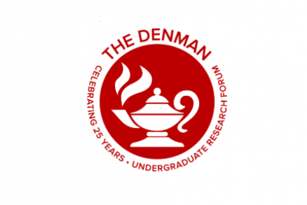 The Denman Undergraduate Research Forum Logo